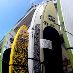 Kazbo Surf and SUP レンタル
