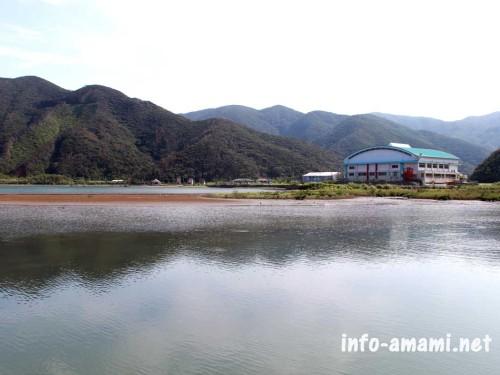奄美市住用町 住用町内海の風景