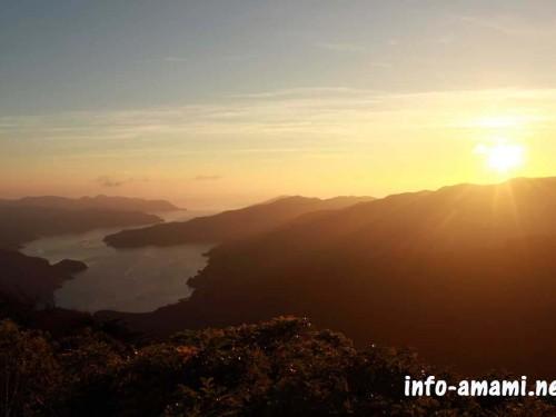 宇検村 湯湾岳展望台の風景