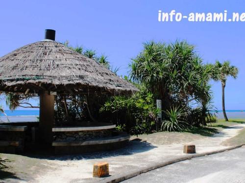 奄美市名瀬 大浜海浜公園の風景